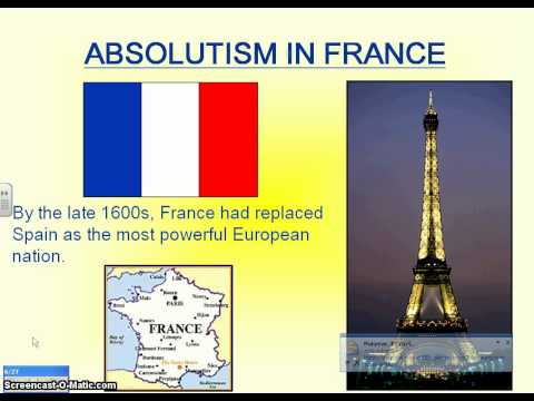 France and England's Absolute Monarchies.avi