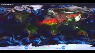 The Most Beautiful Image of Earth - how particles move and affect climate