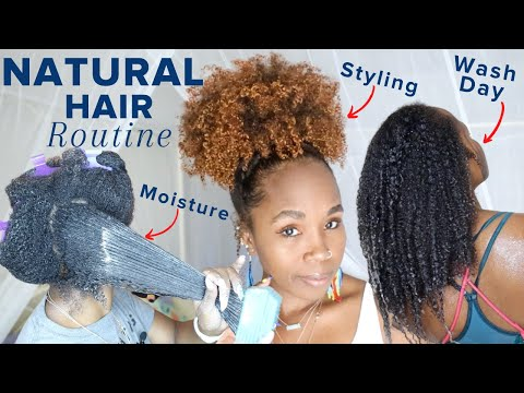 my-natural-hair-routine-for-hair-growth,-thickness-&-length-retention-|-reduce-hair-loss
