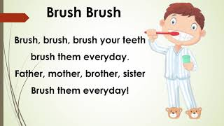 Brush Brush। nursery rhyme । kids song clap। kids videos । kids Diana show। kids rhymes। song