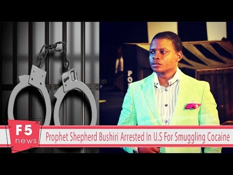 Prophet Shepherd Bushiri Arrested In U.S For Smuggling Cocaine