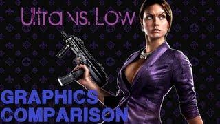 Saints Row 4 PC Graphics Comparison Ultra Vs. Low w/ scenes