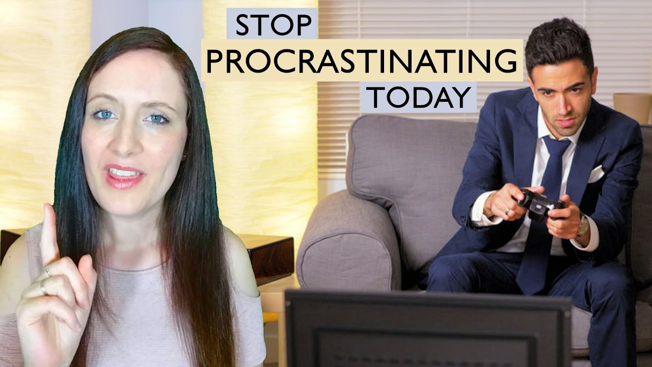 How does one stop procrastinating?