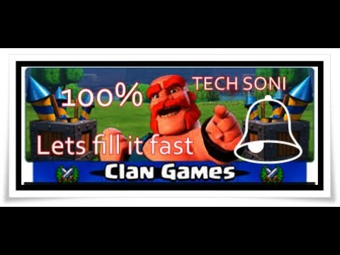 Let's fill CLAN GAMES || best attack to fill clan games || 2018 || hingi
