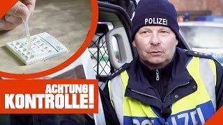 Kaum Pupillenreaktion! Was ergibt der Drogentest bei der Polizei? | Achtung Kontrolle | kabel eins