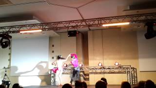 Видео: Bachataday 2014 Simone & Serena, Italy,