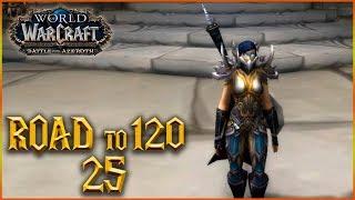 ¿RASGANORTE O TERRALLENDE? - ROAD to 120 - Cap 25 - World of Warcraft