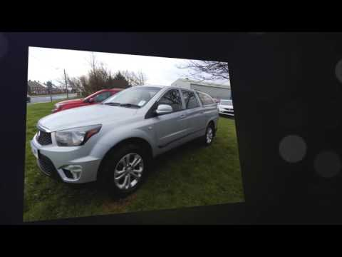 SsangYong Korando Sport Pick Up EX 5dr 4WD for sale in Consett, Durham