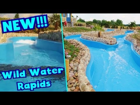 NEW Wild Water Rapids at Tropical Islands 2016 - Berlin