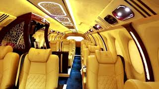 Experience luxury tour with Nirvana VVIP Bus