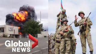 Nagorno-Karabakh conflict: Stepanakert shelled as fighting between Armenia, Azerbaijan escalates