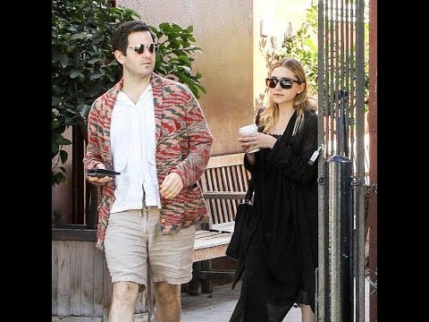 Ashley Olsen spotted out with a mystery man