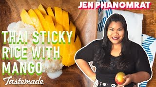 Thai Sticky Rice With Mango | Good Times with Jen