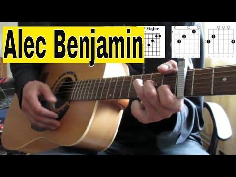 Alec Benjamin- Knife In My Back- Guitar Tutorial/Lesson