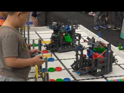 A Cool Design at the Vex IQ 2017 Asia Pacific Championships
