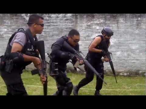 CQB Training of Detachment B Pelopor, West Java Mobile Brigade