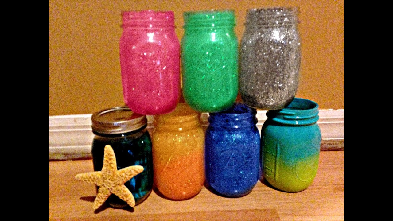 Mason Jar Decor Part - 44: DIY: Mason Jar Crafts | Jazz Transgender - YouTube
