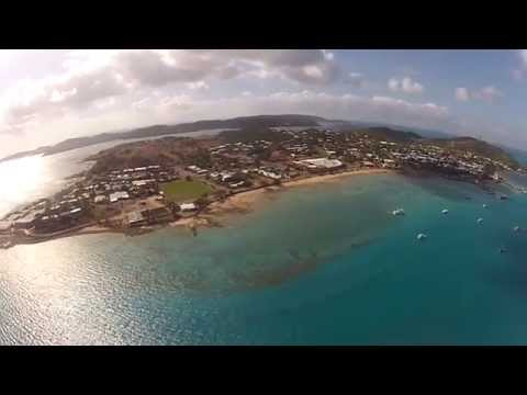 Scenic flight over Torres Strait and landing on Horn Island