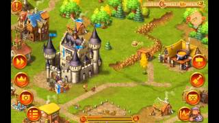 Townsmen - Android game. Silent gameplay