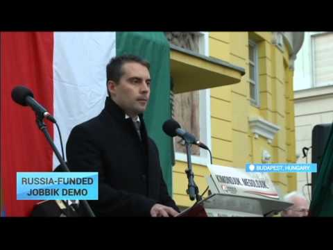 Russia-Funded Hungary Party: Jobbik call to arms over 'unresolved' Carptahian terrotorial dispute