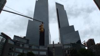 New York, New York - Columbus Circle, Merchants' Gate and the Time Warner Center HD (2012)