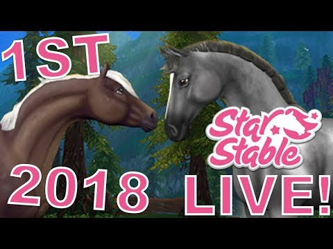 🔴 My FIRST 2018 SSO Livestream! | Star Stable Online Live Stream
