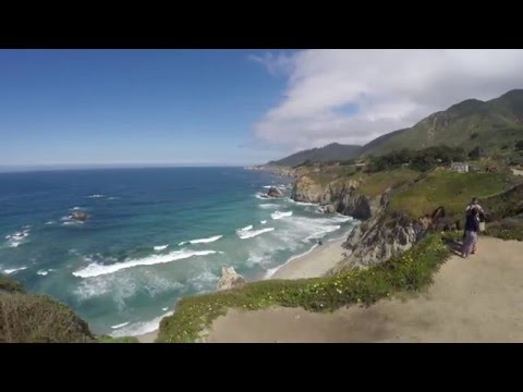 Big Sur Aerial Footage