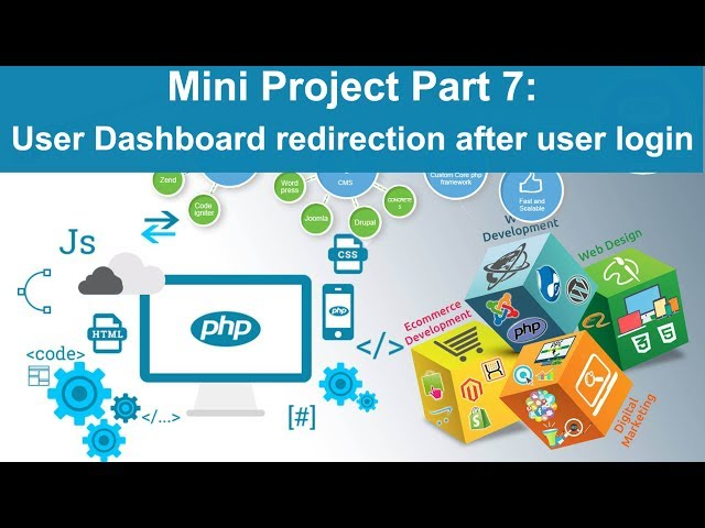 php tutorial in hindi - Mini Project Part 7: User Dashboard redirection after login