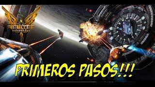 Elite Dangerous - Gameplay ESPAÑOL - Primeros pasos!!!