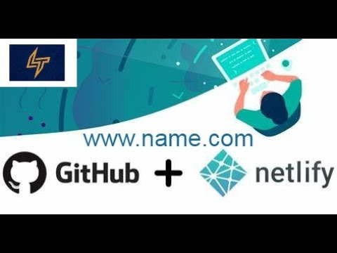 Deploy Your Website using Netlify and Github with Domain Name