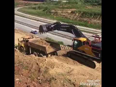 VOLVO 480G AND HYUNDAI 220 excavator EP.2276