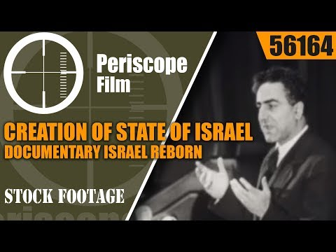 CREATION OF STATE OF ISRAEL DOCUMENTARY   ISRAEL REBORN  56164