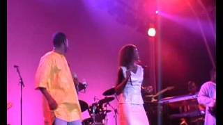 Youssou N'Dour - WOMAD Reading 2005 - Song 5 (7 Seconds).flv