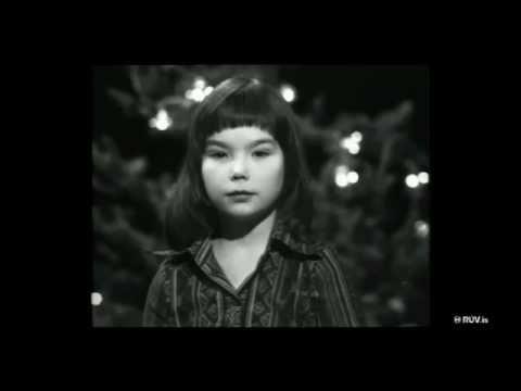 Björk/Bapsi - Reads Nativity Story @ Children's Music School, Reykjavík, Iceland, (1976) [Edited]