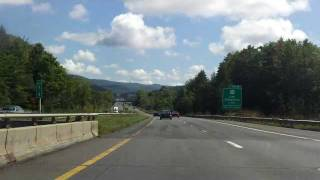 Massachusetts Turnpike (Interstate 90 Exits 1 to 2) eastbound