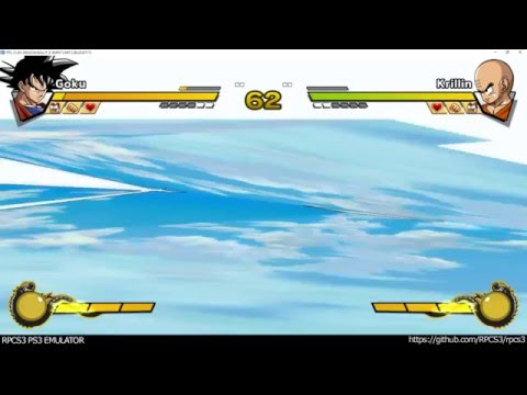 RPCS3 PS3 Emulator - Dragon Ball Z Burst Limit Ingame! DX12