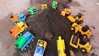 Excavator & Bulldozer รถตักดินตะลุยไซด์ก่อสร้างตัดถนน รถแม็คโคร รถดั้ม รถบรรทุก รถตักดิน รถบดถนน