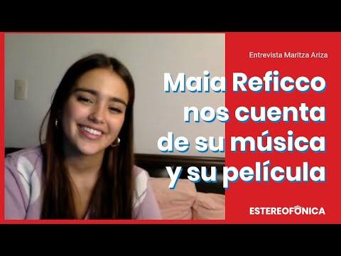 Maia Reficco habla de su música y película | Estereofonica