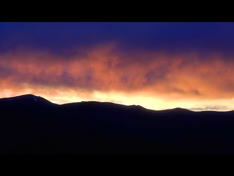 Craters Of The Moon National Monument Idaho Spectacular Sunset Stroll 4K Video