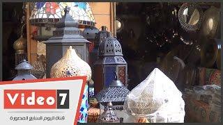 بالفيديو.. فوانيس خان الخليلى .. النحاس فى أبهى صوره