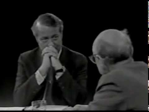 Milton Friedman - Open Mind - Very Early Interview