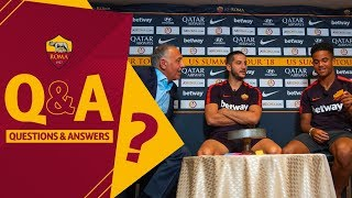 Q&A: Pallotta, Manolas and Kluivert quiz each other!
