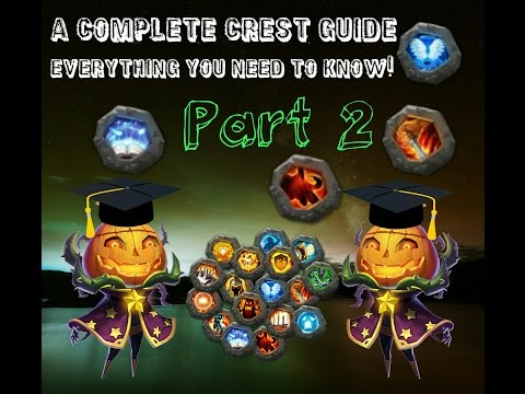 Castle Clash; In Depth Crest Guide, Everything You Need To Know! Part 2