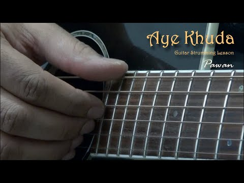 Guitar zindagi guitar chords : Aye Khuda and Zindagi Do Pal Ki - Guitar Chords Lesson - YouTube