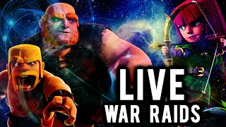 Live War Raid #43 | Clash of Clans | Stoned GoHo Raid