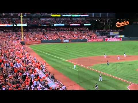 Baltimore Orioles Vs Oakland Athletics Chris Davis Walk Off Home Run 2015