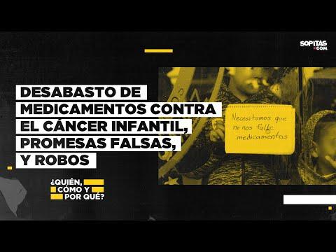 En YouTube: El desabasto de medicamentos contra el cáncer infantil: Entre promesas y robos