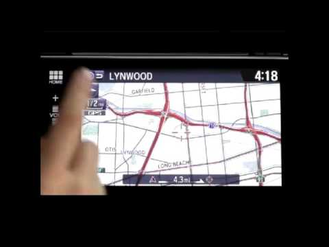 Display Audio with Honda Satellite Linked Navigation System™ and Voice Recognition