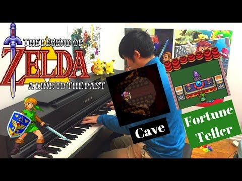 """""""Cave/Fortune Teller"""" from The Legend of Zelda: A Link to the Past for Piano"""