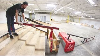THE BOARD SLIDE GAP OF DEATH! / Warehouse Wednesday!